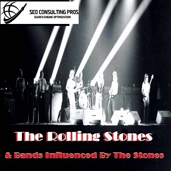 The Rolling Stones and Bands Influenced By The Rolling Stones on Spotify Playlist Promtional Services for Artists influence by The Rolling Stones