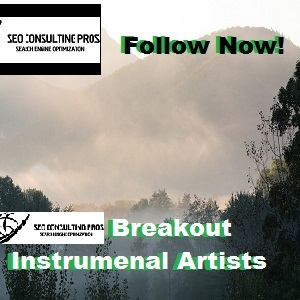 Breakout Instrumental Artists You Should Follow New Age Instrumental Non Vocal Artist Promotion Services SEO Blues Rock Country Instrumentals Marketing Promotion